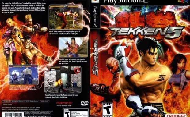 [PS2转PS4]铁拳5(3.83G)